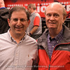 Marc Weiszer (Athens Banner-Herald) and Murray Poole
