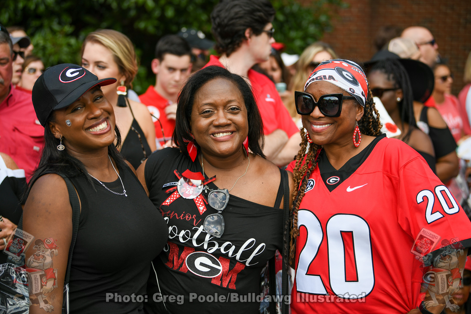 Bulldog Moms - UGA vs. Vanderbilt, Saturday, August 31, 2019 -