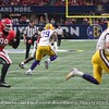 UGA's Jordan Davis (99) give chase to LSU QB Joe Burrow (9)