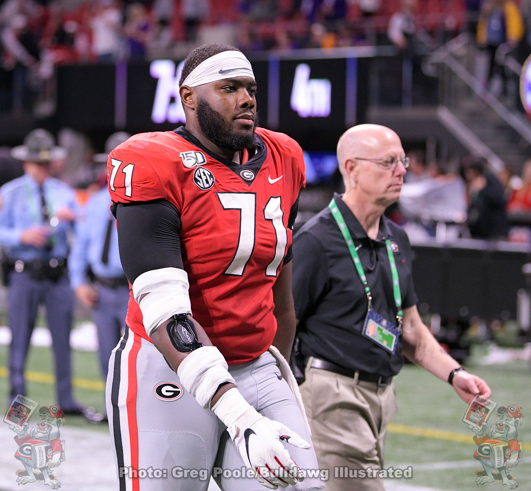 UGA left tackle Andrew Thomas