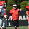Kirby Smart instructs Brenton Cox (1)