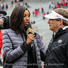 Maria Taylor and UGA Head Coach Kirby Smart