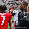 D'Andre Swift (7) and Nick Chubb