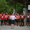 Georgia football players made their second visit of the Summer to Camp Sunshine on June 26, 2019. Camp Sunshine is a camp for children with cancer.