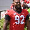 Justin Young  - G-Day 2018 - Dawg Walk - April 21, 2018