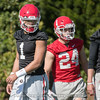 Justin Fields - 2018 Spring Practice - Day 2 - March 22, 2018