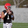 Justin Fields - Spring Practice Day 1 - March 20, 2018 Photo: Rachel Floyd/Bulldawg Illustrated