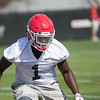 Brenton Cox - Spring Practice Day One - March 20, 2018