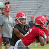 Justin Fields (1)  and James Cook (6)