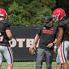 Jake Fromm (11), James Coley and Justin Fields (1)