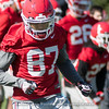 Tyler Simmons - 2018 Spring Practice - Day 2 - March 22, 2018