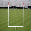 Work is still underway at Sanford Stadium and the field looks great.