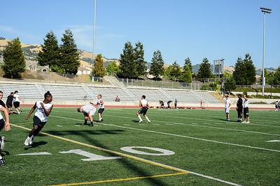 7 on 7 Gunderson, Evergreen and Santa Teresa High School 7-12-18