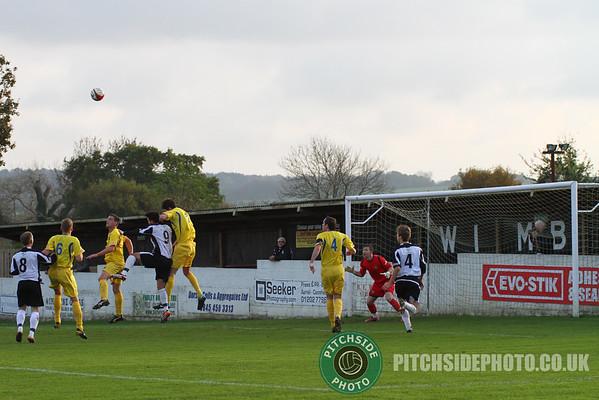 Wimborne Town v Abingdon United, Southern League, 12th November 2011