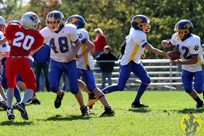 The Brookfield Bobcats Junior Midget team continued their winning ways with a  14-0 victory over Wolcott.  Click here to check out some of the action from their game!
