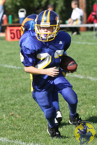 The Brookfield Bobcat Mighty Mite Blue team suffered a tough loss at the hands of New Milford last weekend. Being down didn't damper their spirits - they fought hard with grit and determination.  Click here to check out the action from their game!
