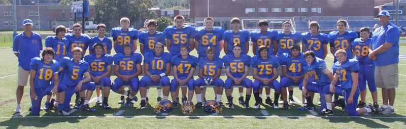2012 Freshman Football Team