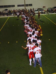 Troyanos 36 - Aguilas 0