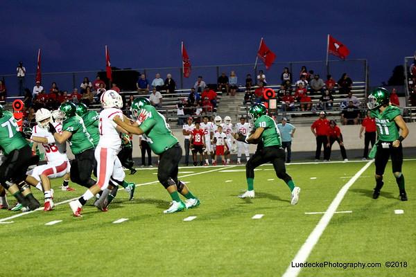 Burnet Homecoming 1st quarter