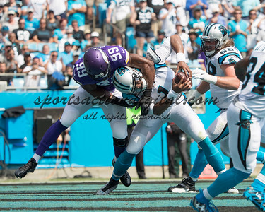 Cam Newton, Danielle Hunter