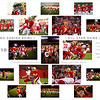 "This collage is 20x24"" and commemorates participation in the Iowa Shrine Bowl."
