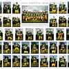 """2011 Mustang Football varsity team 20x30"""" poster."""