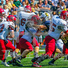 Bates College Bobcats running back Ryan Spillane (33)