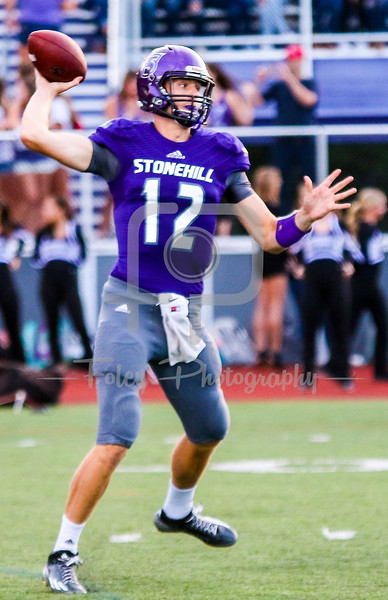 Stonehill Skyhawks Matt Foltz (12)