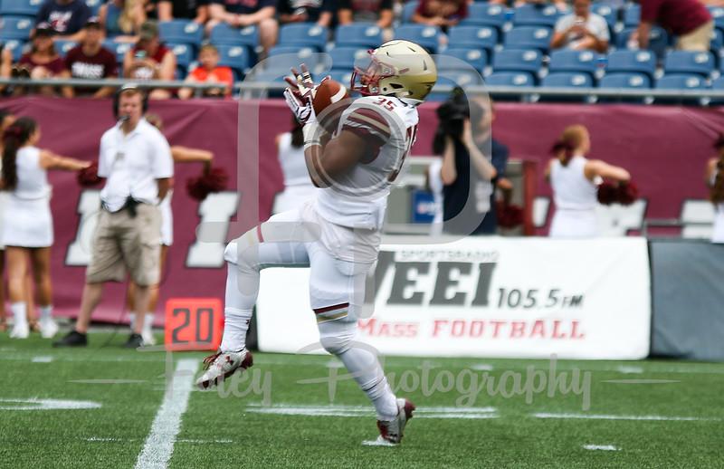 Boston College Eagles running back Tyler Rouse (35)