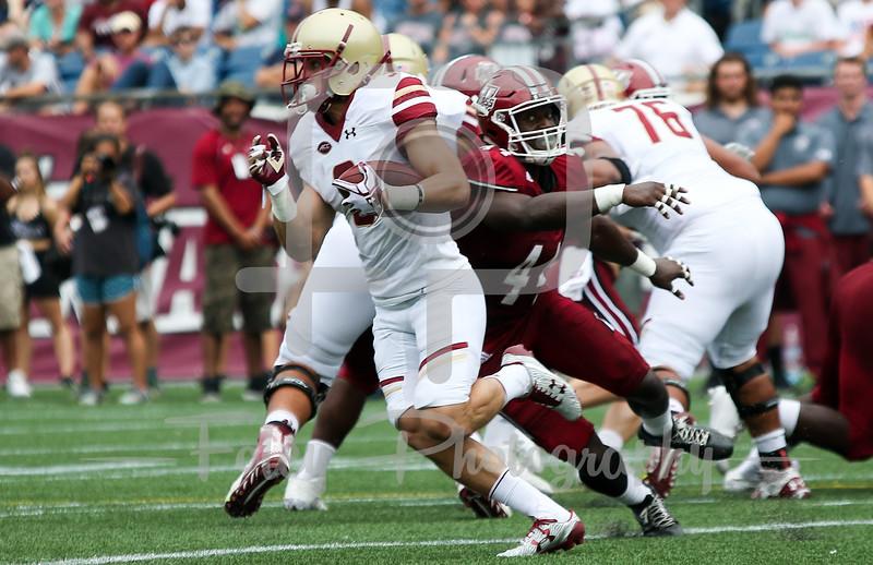 Boston College Eagles wide receiver Michael Walker (3)