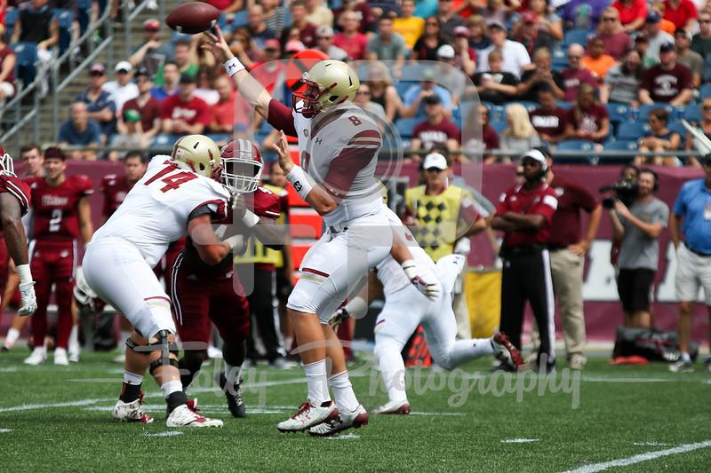 Boston College Eagles quarterback Patrick Towles (8)