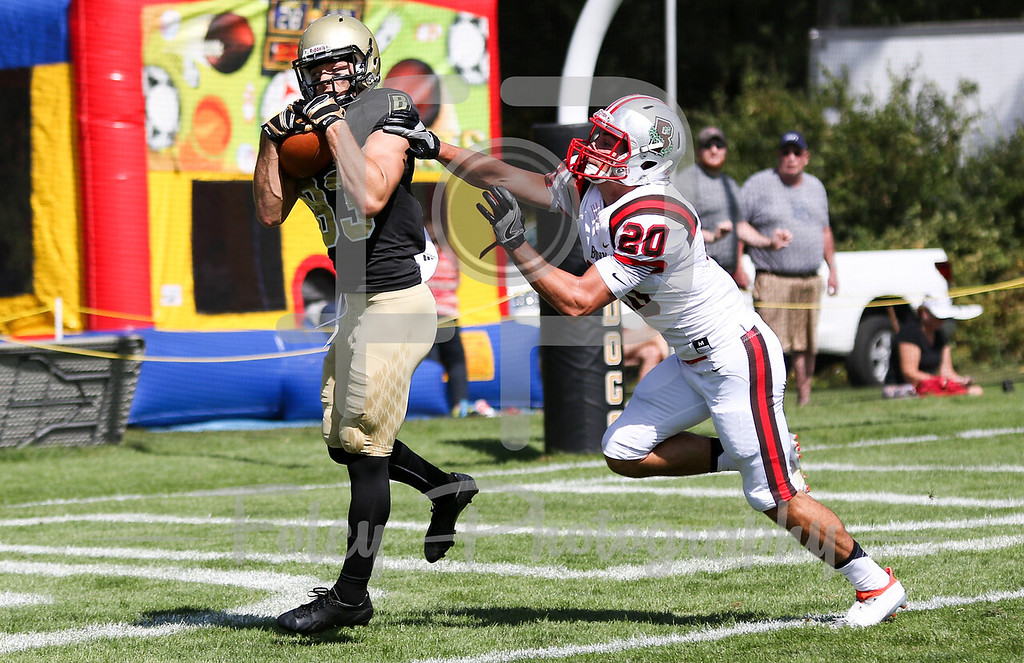 Bryant University Bulldogs wide receiver Taylor Barthelette (83)