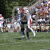 Brown Bears defensive back Jordan Ferguson (6) Bryant University Bulldogs wide receiver Keenan Thompson (81)