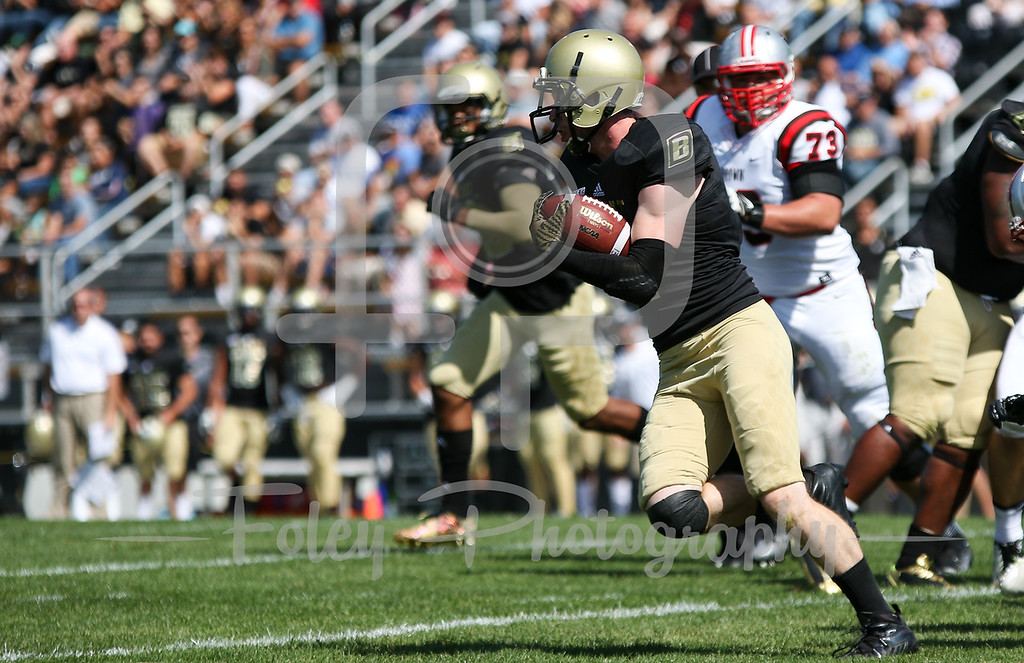 =Bryant University Bulldogs running back Alfred Dorbor (4)