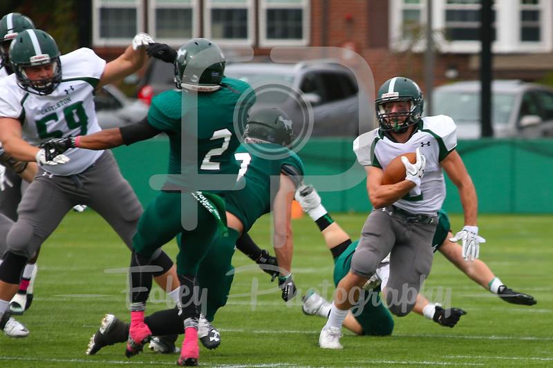 Castleton University defensive back Joe DeAlesandro (2)