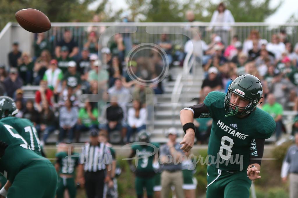 Mount Ida quarterback Jack Sheehan (8)