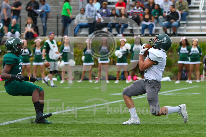 Castleton University defensive back Joe DeAlesandro (2)