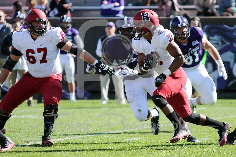 Harvard Crimson wide receiver Lavance Northington (2)