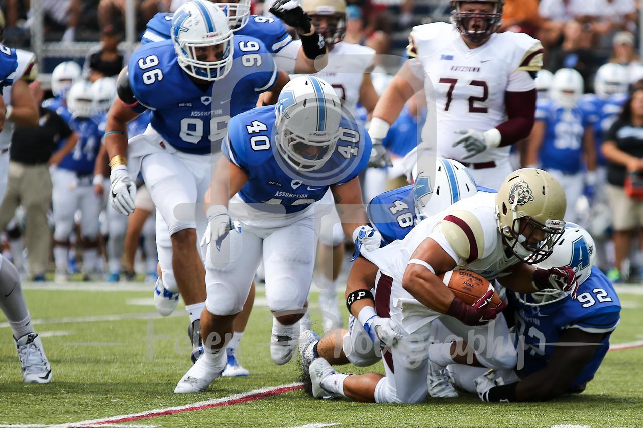 Kutztown Golden Bears running back Craig Reynolds (13)