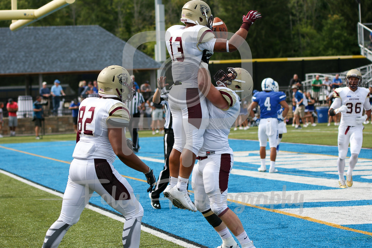 Kutztown Golden Bears running back Craig Reynolds (13)