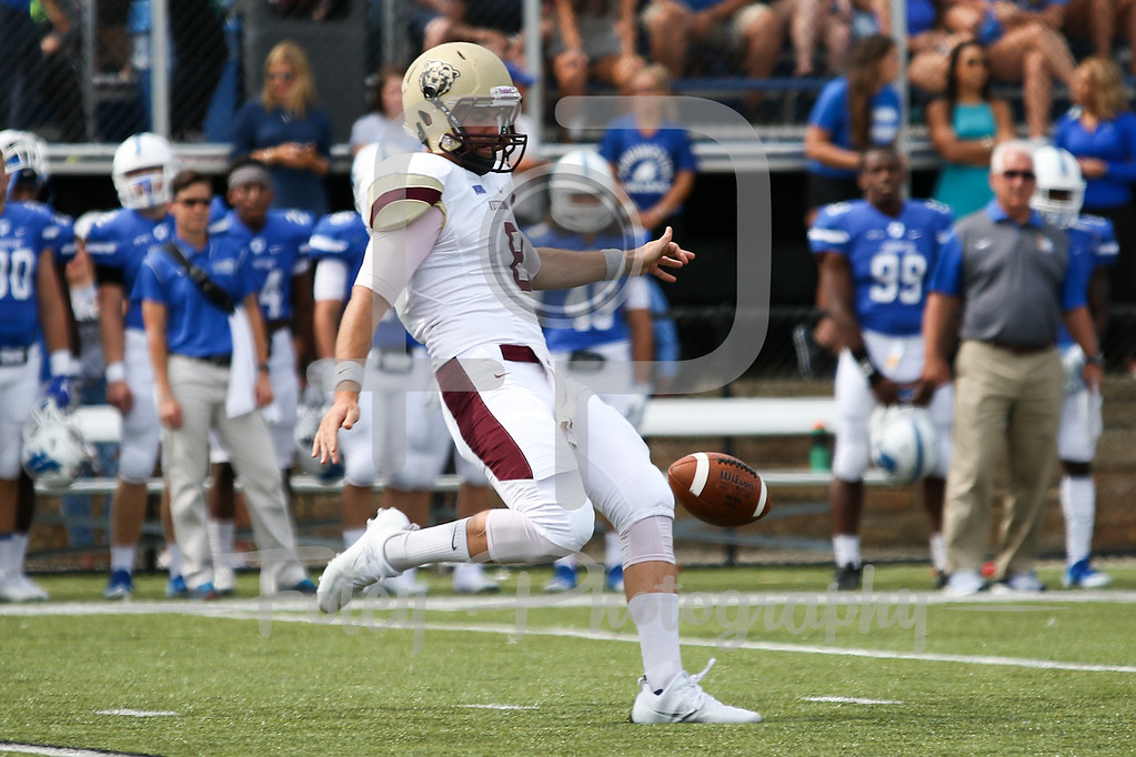 Kutztown Golden Bears quarterback Brennan Scott (8)