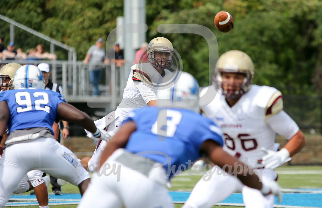 Kutztown Golden Bears quarterback Terence Scanlon (6)