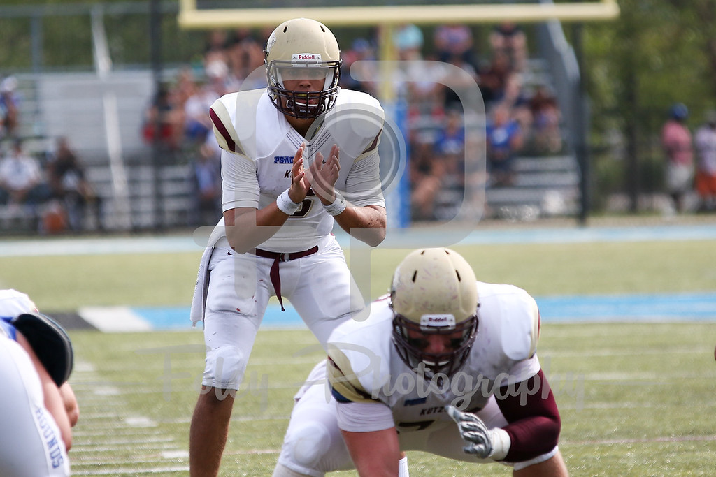 Kutztown Golden Bears quarterback Terence Scanlon (6)