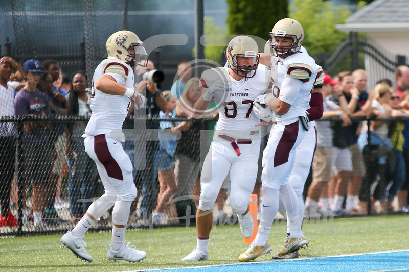 Kutztown Golden Bears wide receiver Ryan Hubley (87)