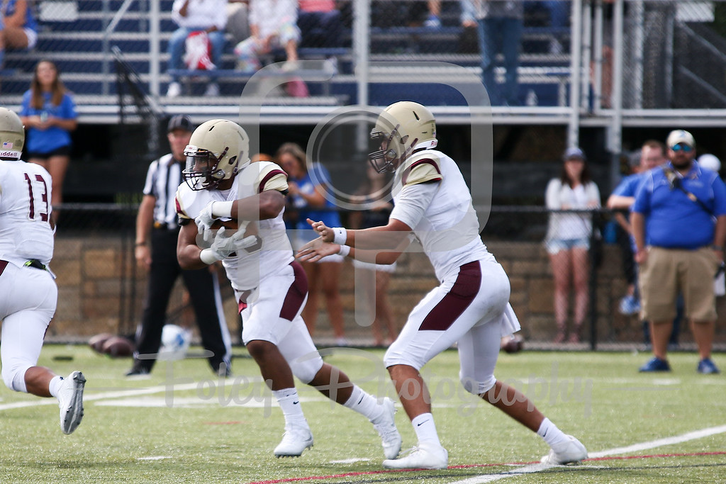 Kutztown Golden Bears running back Darrell Scott (23) Kutztown Golden Bears quarterback Terence Scanlon (6)