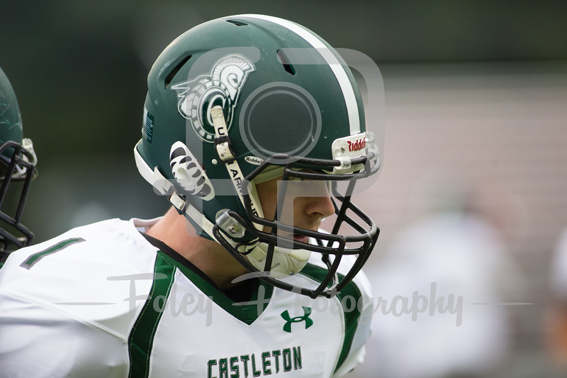 Castleton University Spartans linebacker Shane Hurley (1)