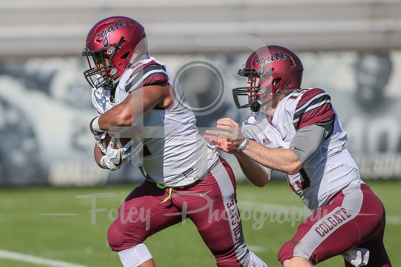 Colgate Raiders running back James Holland (2)