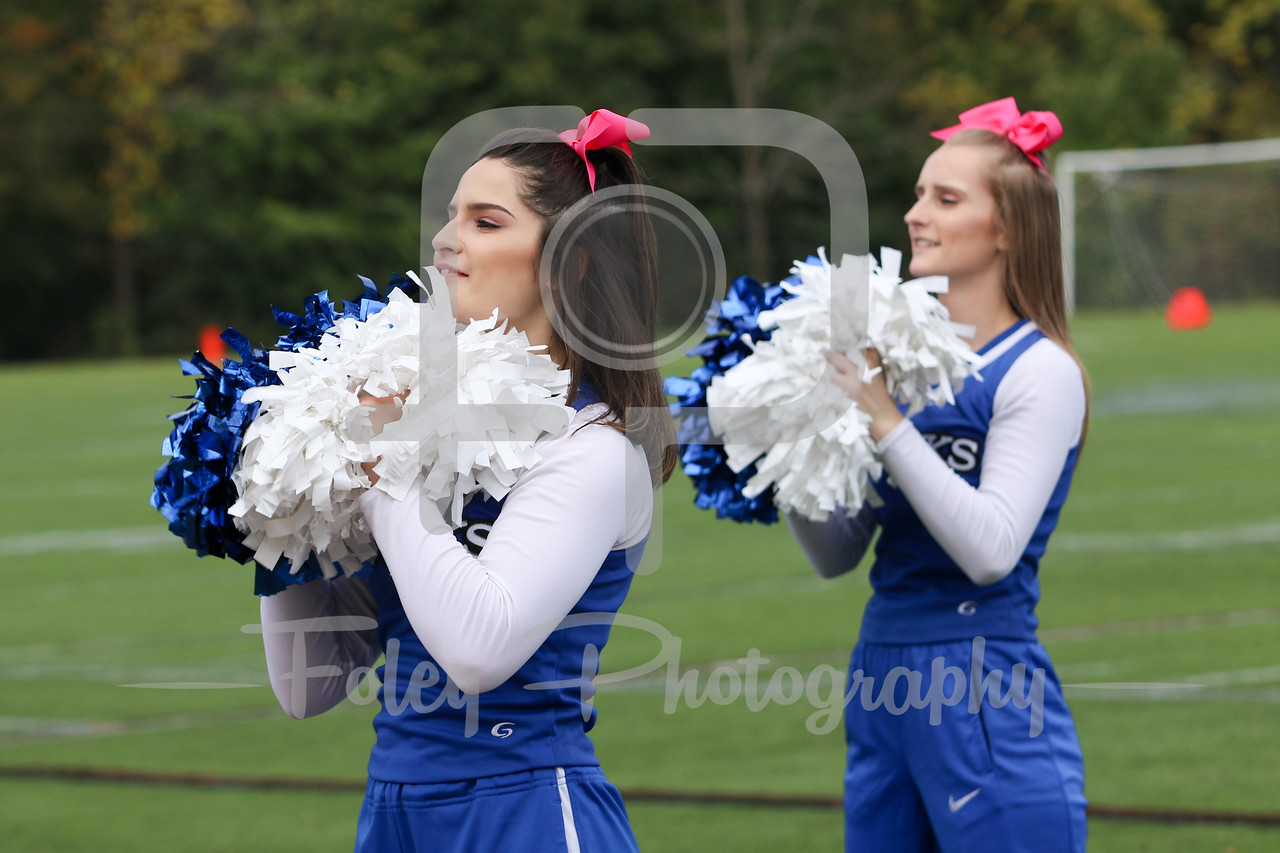 Becker College Hawks Cheerleader