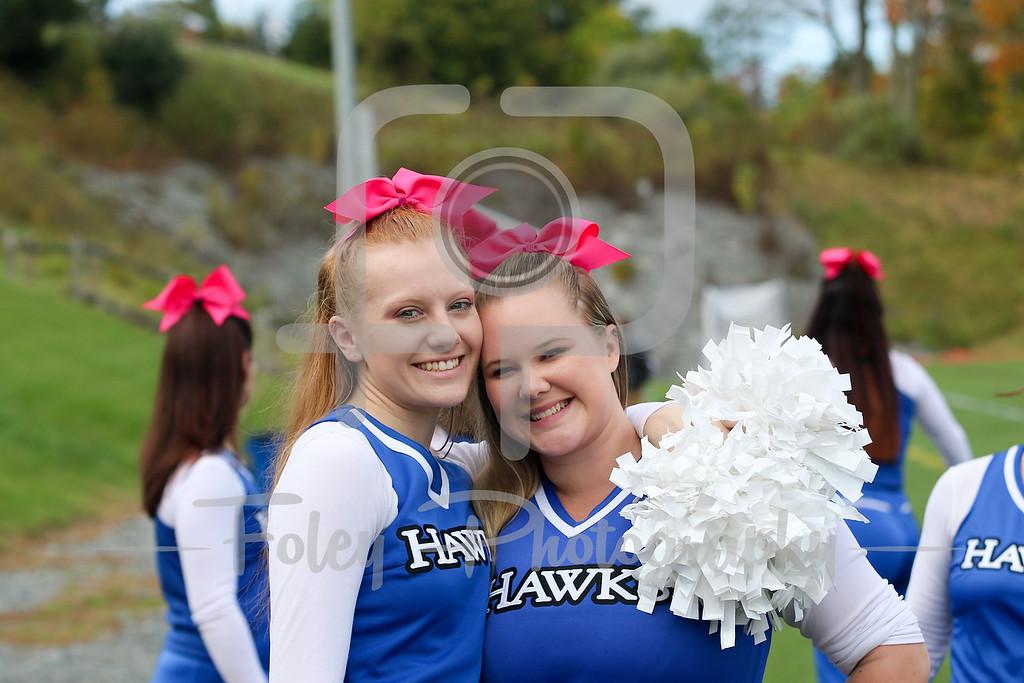 Becker College Hawks Cheerleaders