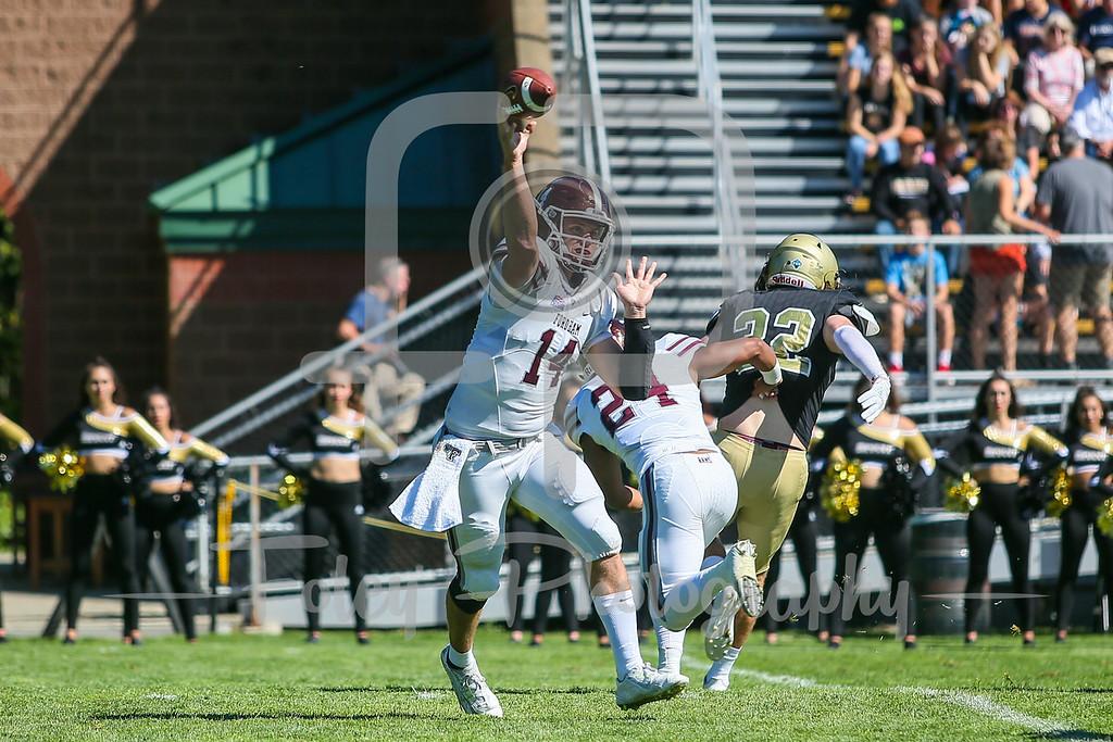 Fordham Rams quarterback Kevin Anderson (14)